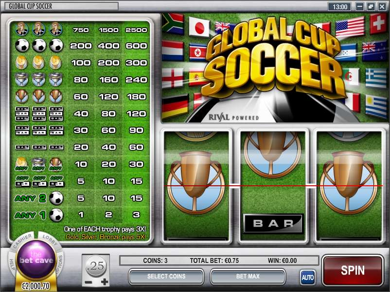 Game Review Global Cup Soccer