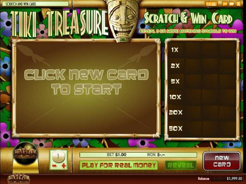 Game Review Tiki Treasure