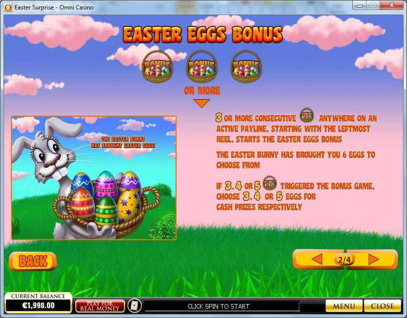 Game Review Easter Surprise