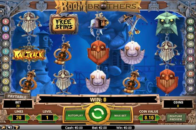 Game Review Boom Brothers