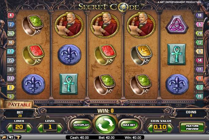 Game Review The Secret Code