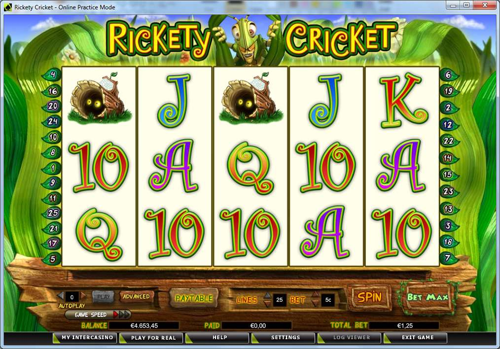 Game Review Rickety Cricket