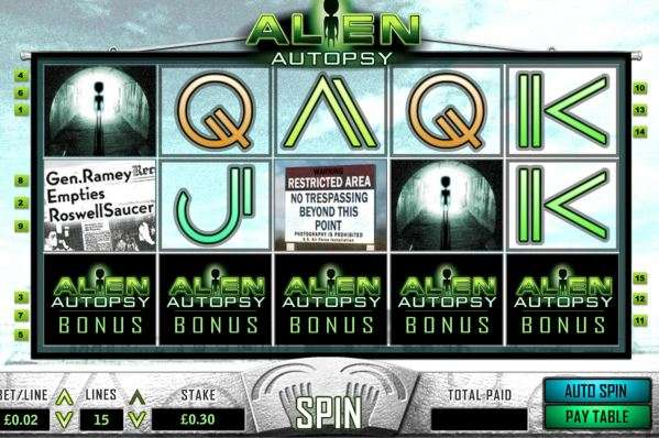 Game Review Alien Autopsy