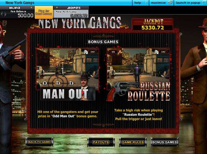 Game Review New York Gangs
