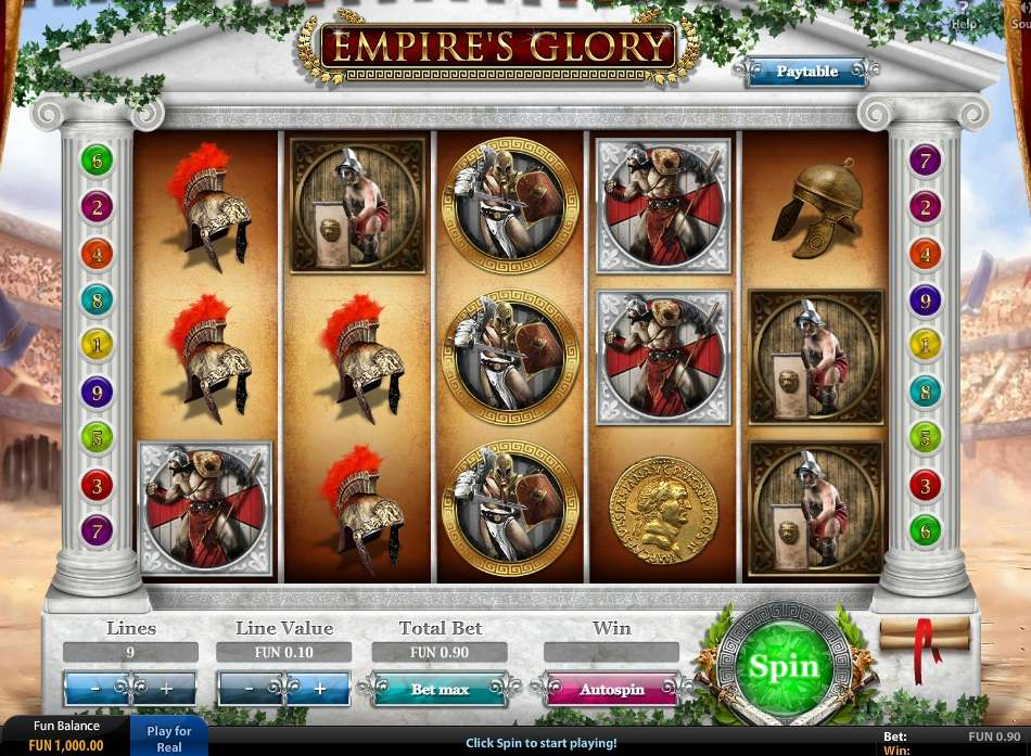 Game Review Empire's Glory