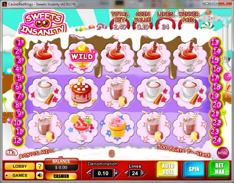 Game Review Sweets Insanity