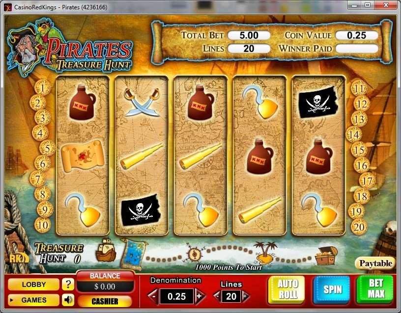 Game Review Pirates - Treasure Hunt