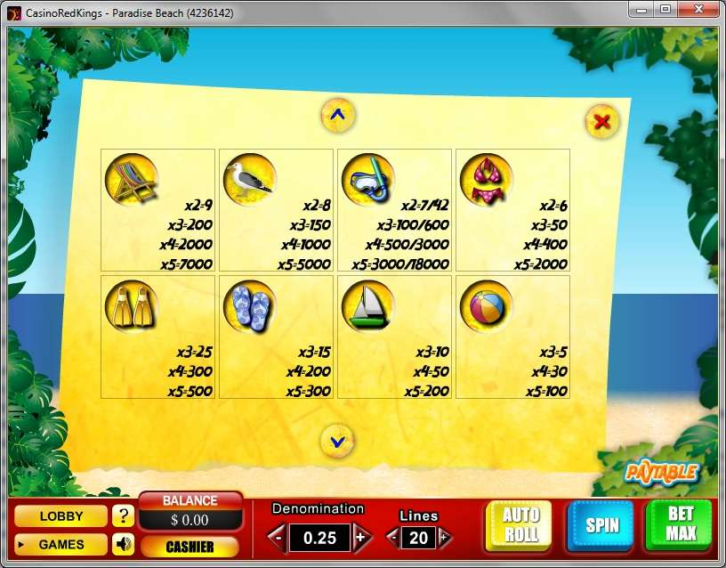 Game Review Paradise Beach