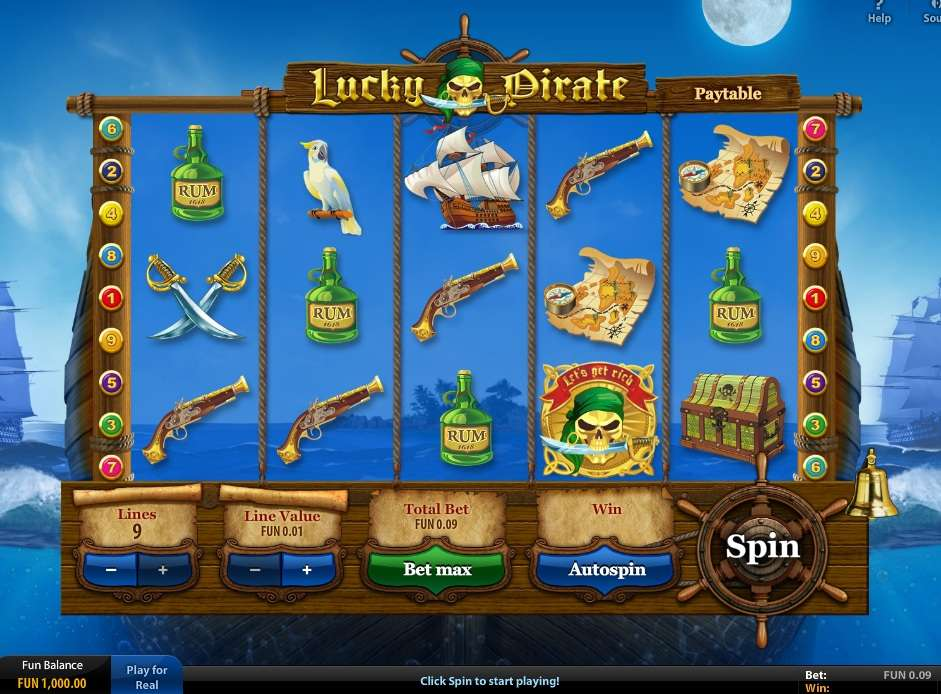 Game Review Lucky Pirate