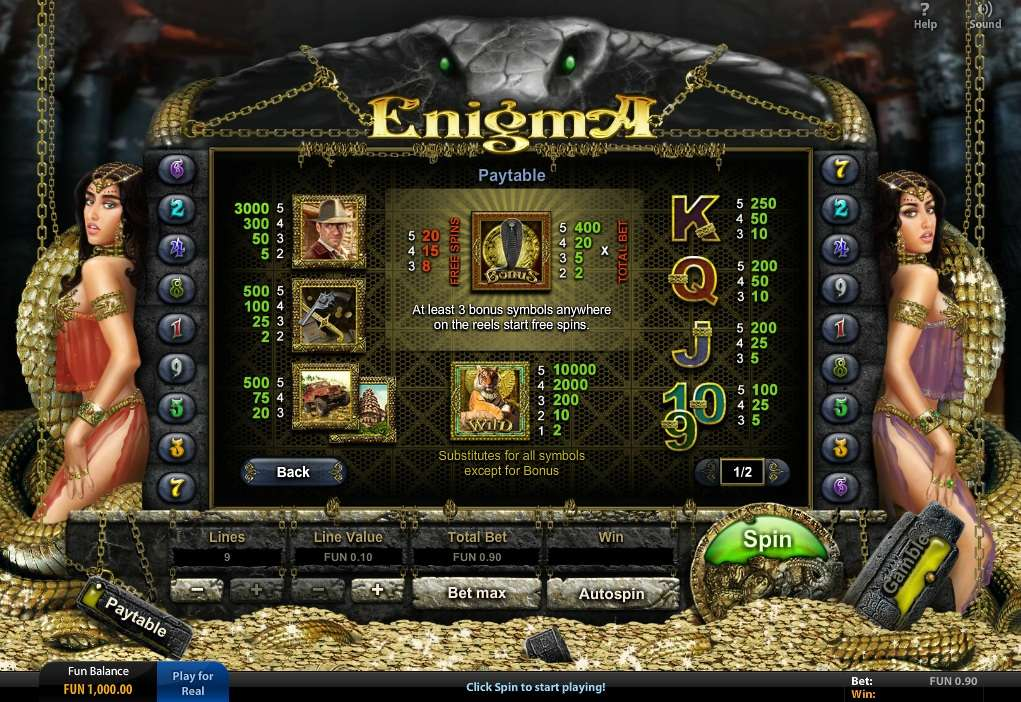 Game Review Enigma