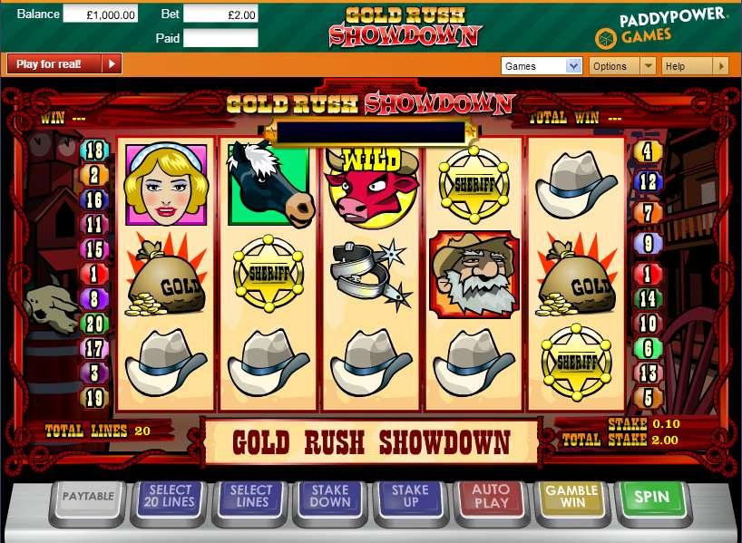 Game Review Gold Rush Showdown