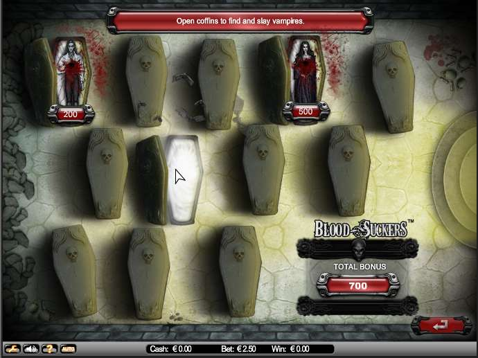 Game Review Blood Suckers