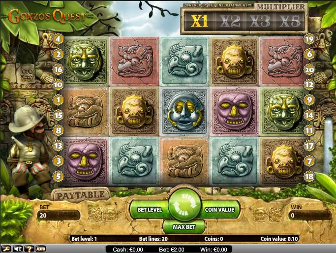 Game Review Gonzo's Quest
