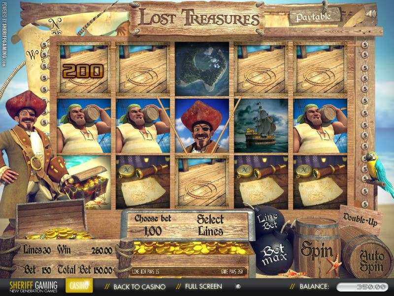 Game Review Lost Treasures