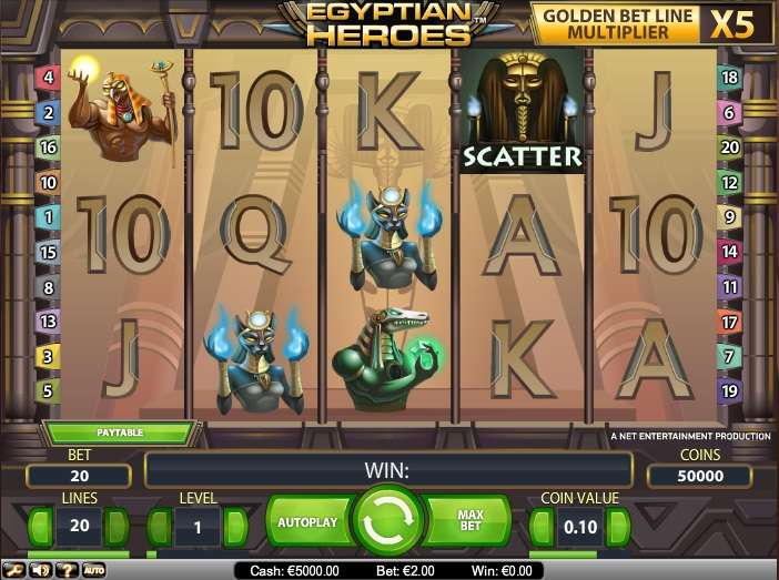 Game Review Egyptian Heroes