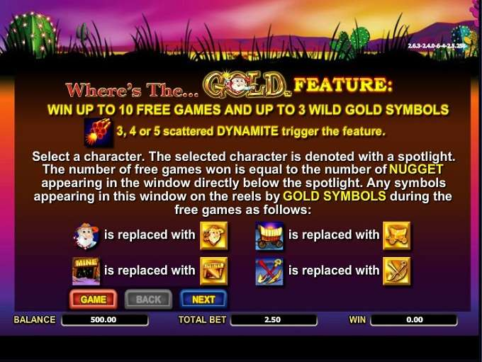 Game Review Where's the Gold