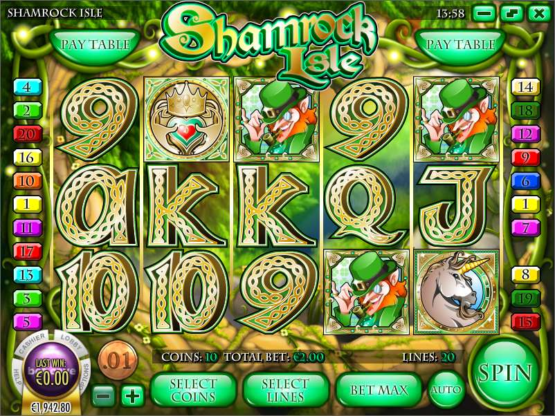 Game Review Shamrock Isle