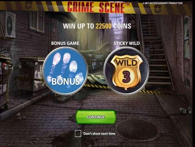 Game Review Crime Scene