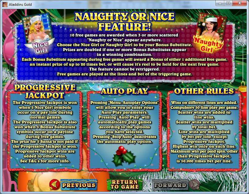Game Review Naughty Or Nice?