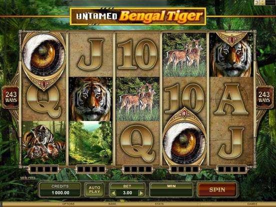 Game Review Untamed Bengal Tiger