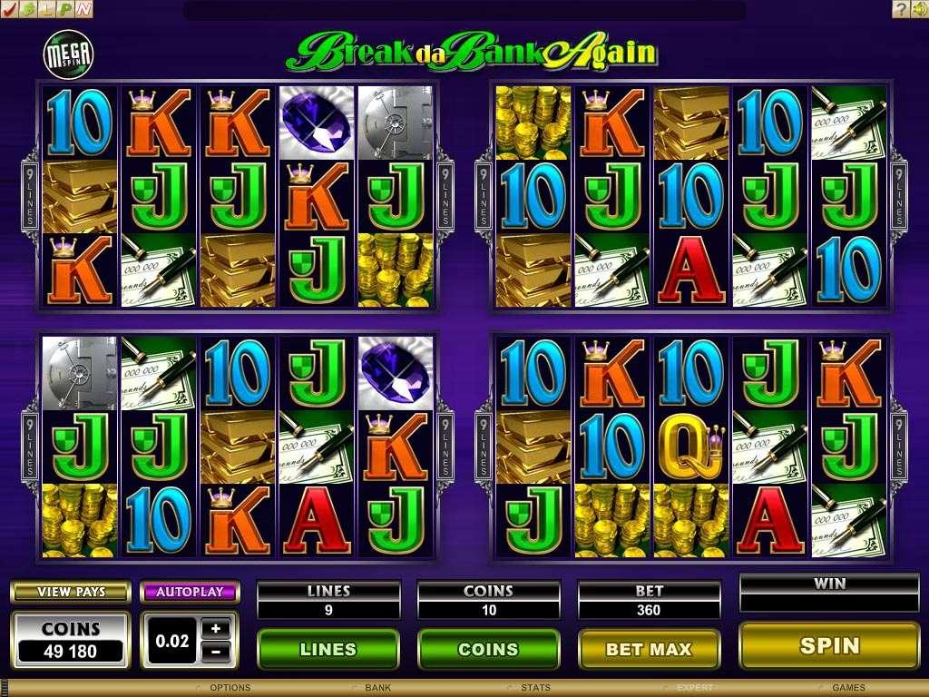 Game Review Megaspin - Break Da Bank Again