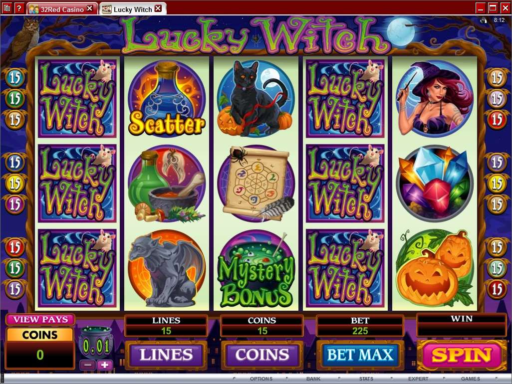 Game Review Lucky Witch