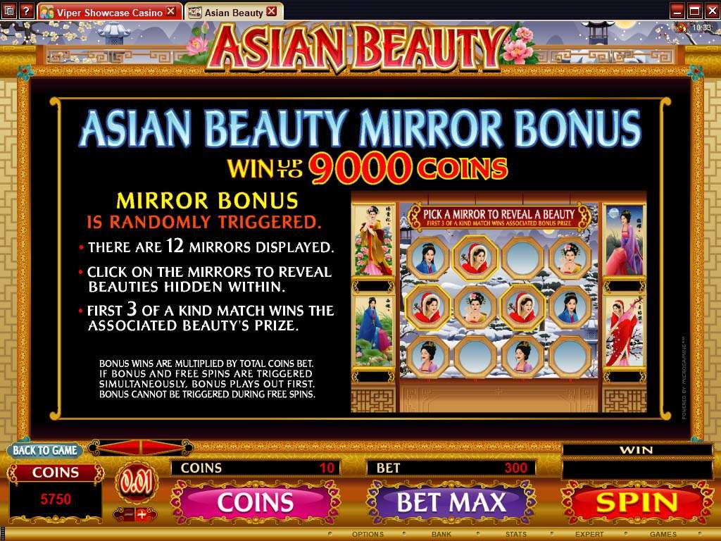 Game Review Asian Beauty