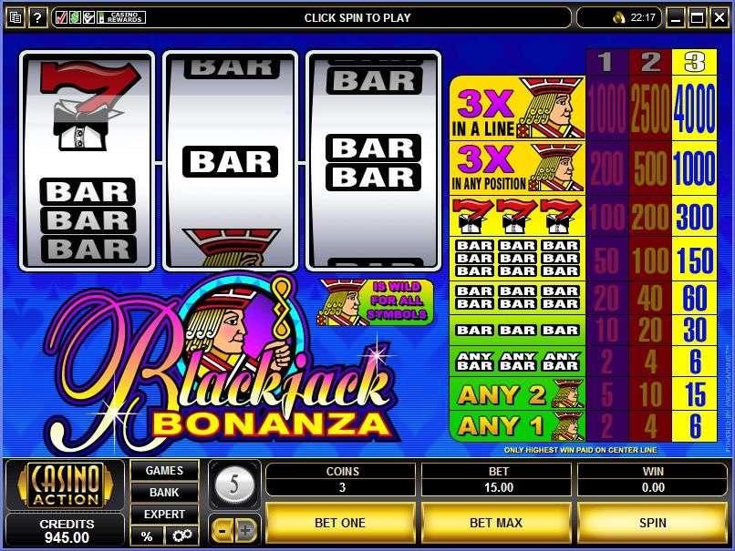 Game Review BlackJack Bonanza