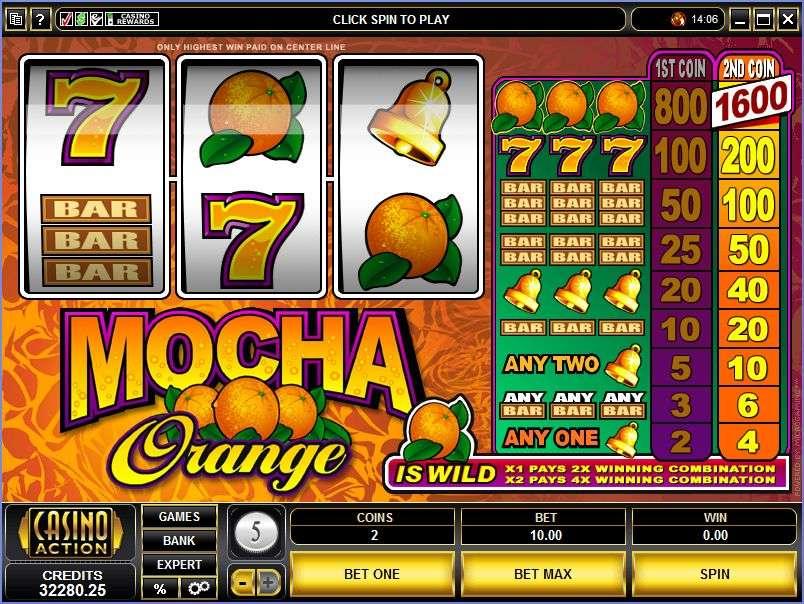 Game Review Mocha Orange