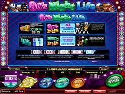 Game Review 80s Night Life