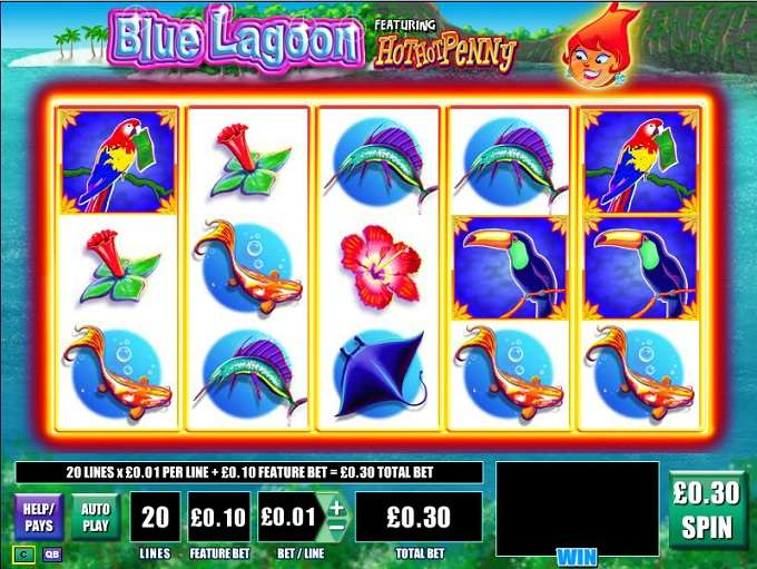 Game Review Blue Lagoon