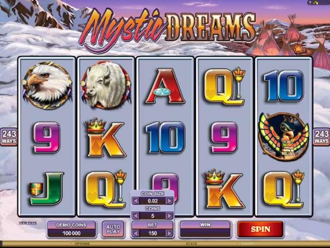 Game Review Mystic Dreams