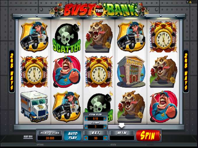 Game Review Bust the Bank