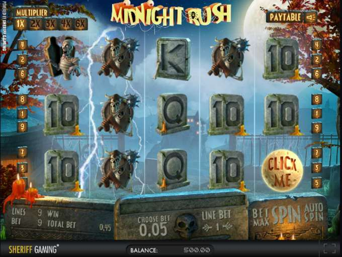 Game Review Midnight Rush