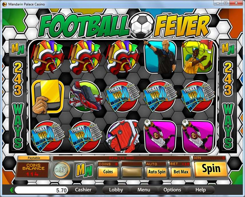 Game Review Football Fever