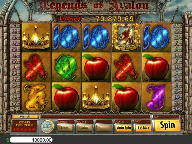 Legends of avalon