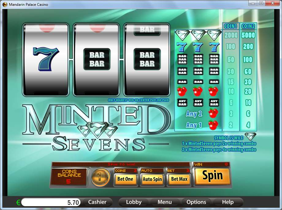 Game Review Minted Sevens