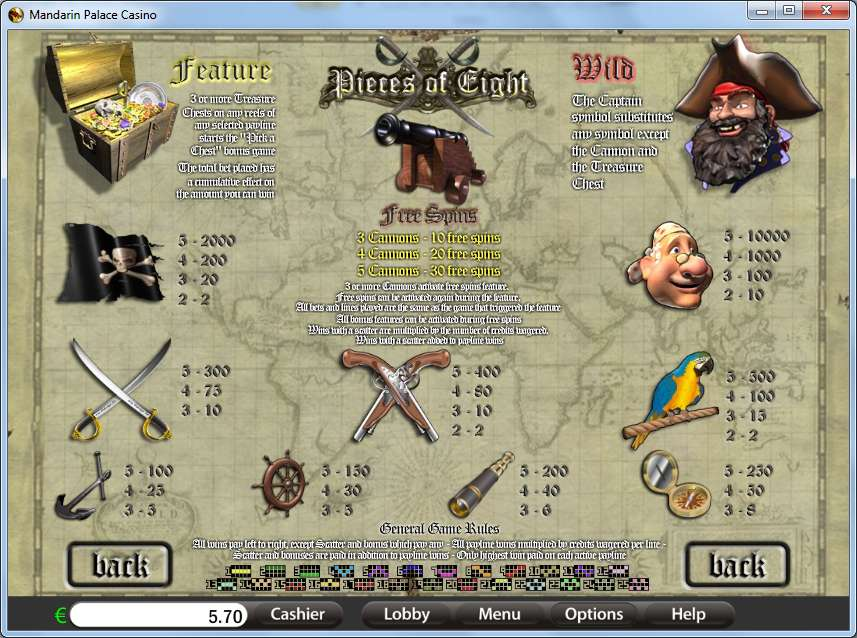 Game Review Pieces Of Eight