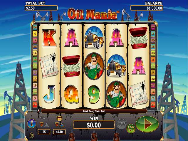 Game Review Oil Mania