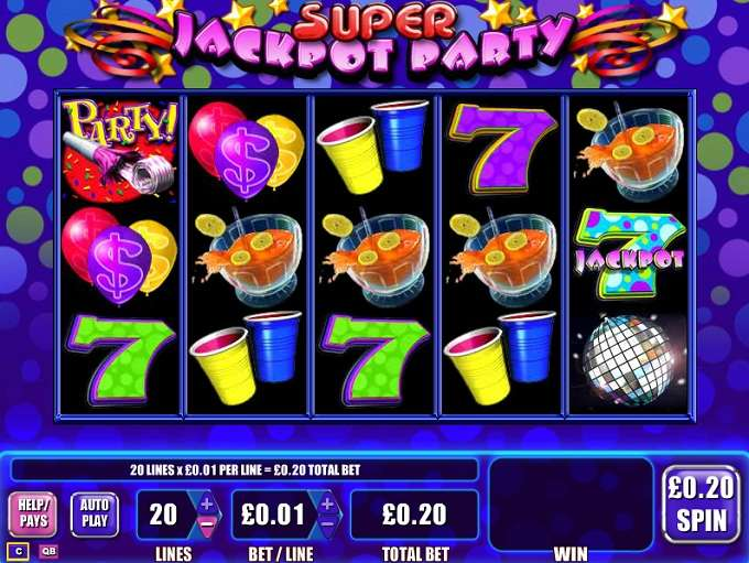 Game Review Super Jackpot Party