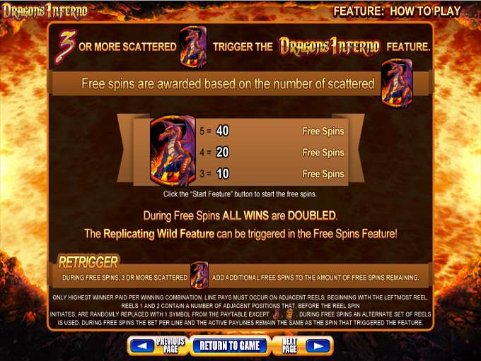 Game Review Dragon's Inferno