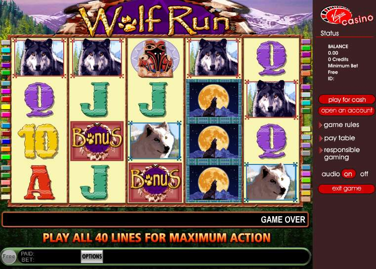 Game Review Wolf Run