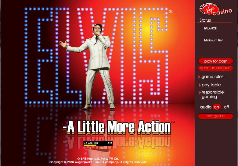 Game Review Elvis - A Little More Action
