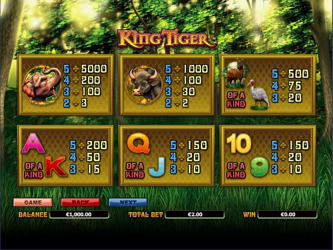 Game Review King Tiger