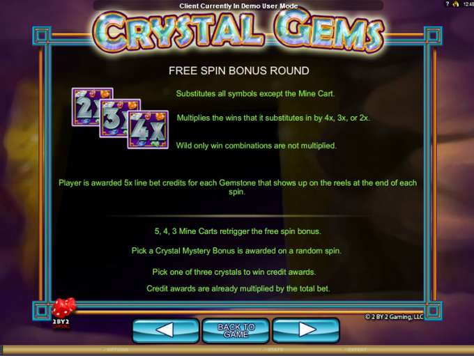 Game Review Crystal Gems