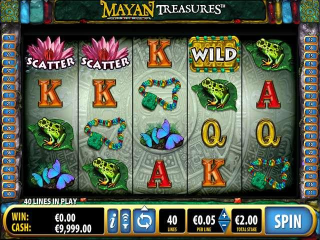 Game Review Mayan Treasures