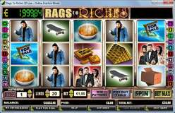 Game Review Rags to Riches - 20 Lines