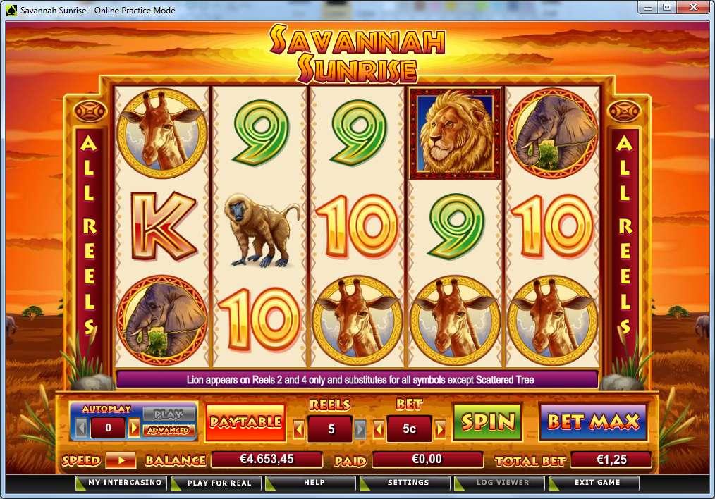 Game Review Savannah Sunrise