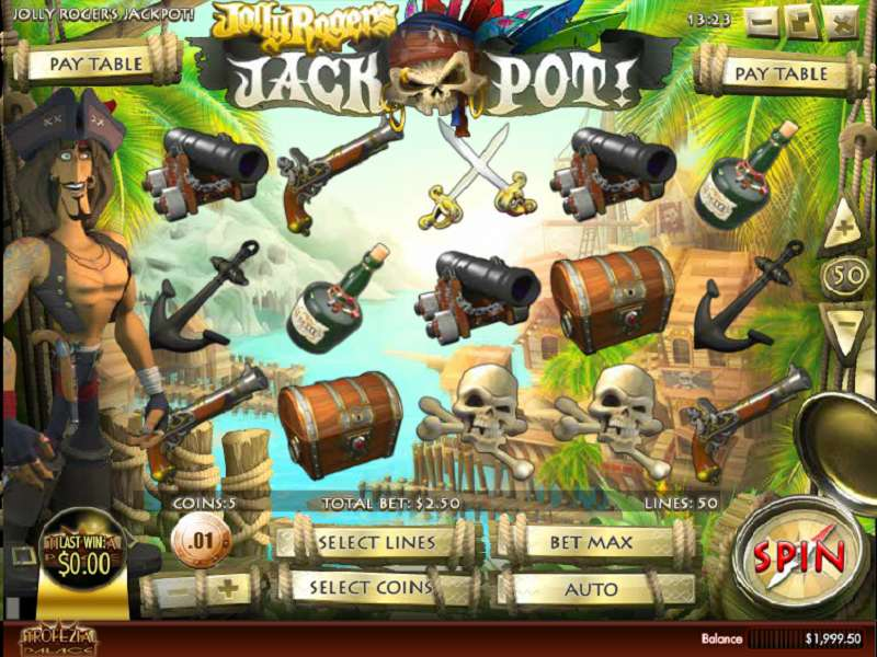 Game Review Jolly Roger's Jackpot