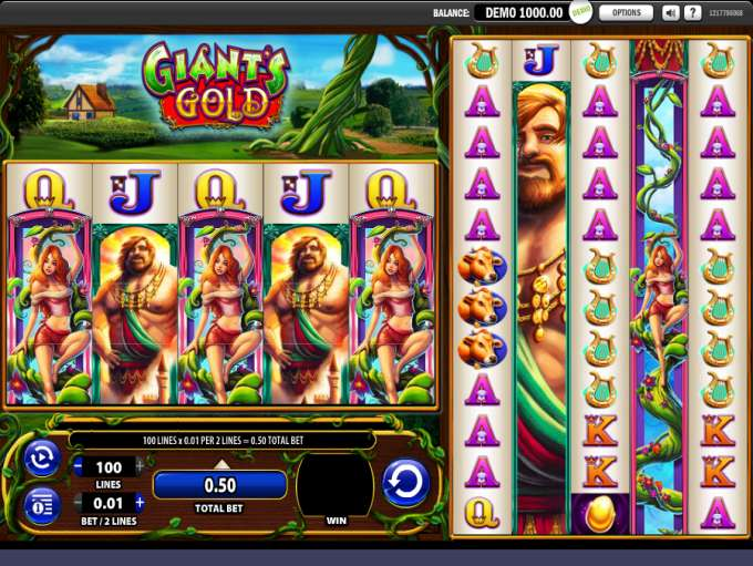 Game Review Giant's Gold